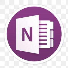 Microsoft - Microsoft OneNote App Store PNG