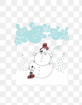 Snowman Vector Material - Snowman Daxue Euclidean Vector PNG