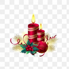 Candle - Vector Graphics Christmas Day Image Clip Art PNG