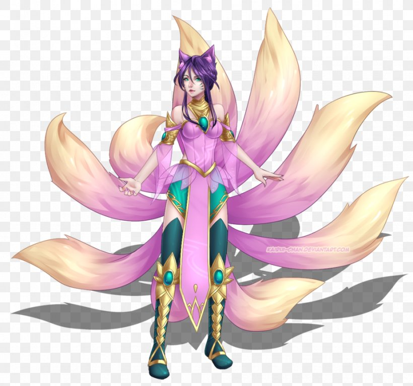 League Of Legends Ahri Video Game Drawing Fan Art Png