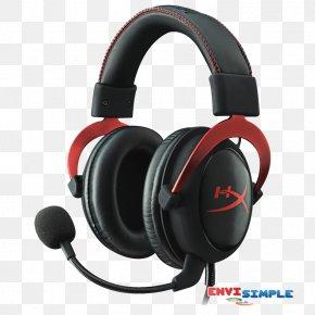 Headphones - Kingston HyperX Cloud II Kingston HyperX Cloud Alpha Kingston HyperX Cloud Stinger Headset PNG