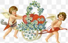 Cupid - Valentine's Day Cupid Cherub Clip Art PNG