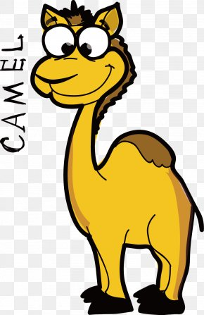 Vector Hand-drawn Cartoon Camel Picture Material - Carte Danniversaire Birthday Photography E-card Shutterstock PNG