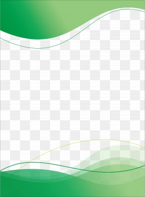 Poster Template - Green Pattern PNG
