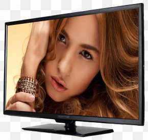 Television - LED-backlit LCD High-definition Television 720p 1080p PNG