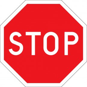 Stop Sign Art - Traffic Sign Stop Sign Road PNG