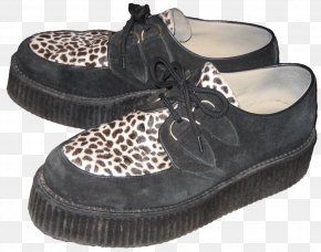 Sneakers - United Kingdom 1950s Edwardian Era Teddy Boy Brothel Creeper PNG