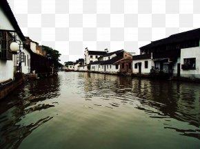 Suzhou Jiangnan Water Town - Jiangnan Shuixiang Download Icon PNG
