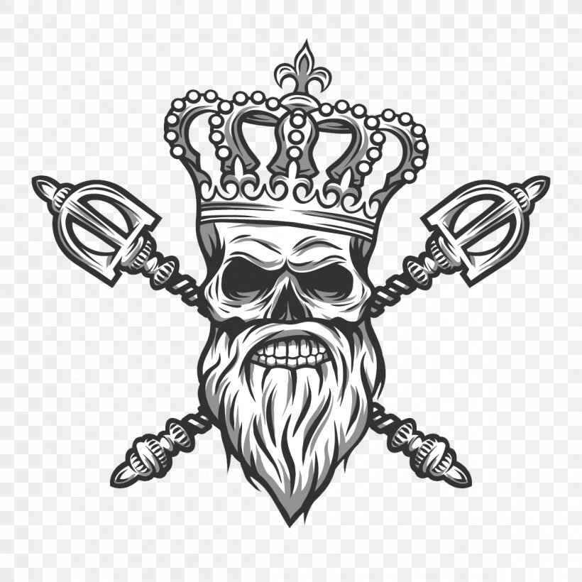 Cartoon Skull With Crown – Here presented 52+ skull crown drawing images for free to download, print or share.