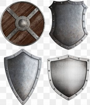 Metal Shield - Middle Ages Shield Knight Crusades Stock Photography PNG