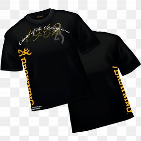 T-shirt - T-shirt Browning Arms Company Clothing Fishing Hunting PNG