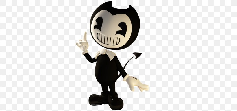 Bendy And The Ink Machine Cuphead Drawing 3D Computer Graphics 3D Modeling, PNG, 1280x600px, 3d Computer Graphics, 3d Modeling, Bendy And The Ink Machine, Animal Figure, Build Our Machine Download Free