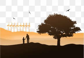 Vector Tree Parents - Day Icon PNG