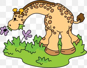 Cartoon Giraffe - Northern Giraffe Cartoon Clip Art PNG