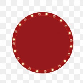 Free Red Dial Button Material - Red Circle Pattern PNG