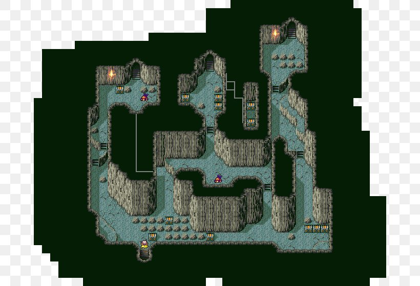 Final Fantasy IV Map Video Game, PNG, 688x560px, Final ...