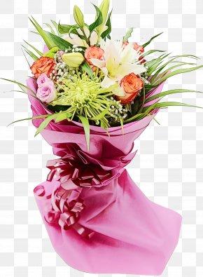Floral Design Vase - Floral Design PNG