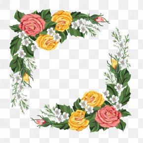 Mothers Day Border Flower Bouquet - Flower Floral Design Desktop Wallpaper Adobe Photoshop Image PNG
