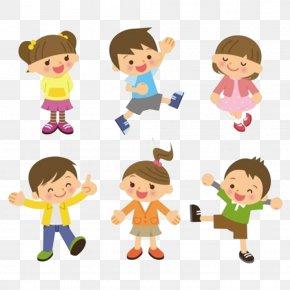 Happy Children - Child Cartoon St Basils Preschool PNG