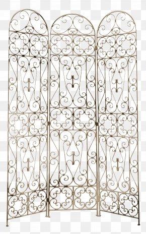 Brown Metal Door - Window Room Divider Door Metal PNG