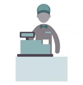 Cashier Modern Cliparts - Kadapa District Cashier Profession Job PNG