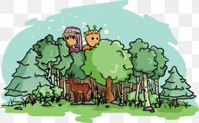 Mystical Forest - World Cartoon Character Fiction PNG