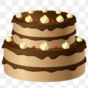 Birthday Cake - Torte Birthday Cake Chocolate Cake PNG