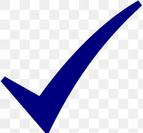 Check Mark Blue Clip Art Icon - Check Mark Symbol Clip Art PNG