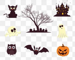 Halloween Horror Decorative Elements - Halloween Ghost PNG