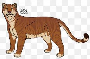 Lion - Whiskers Lion Cougar Tiger Cat PNG