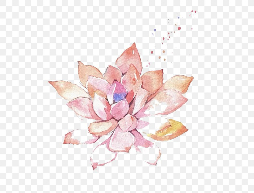 Watercolor Painting Flower Clip Art, PNG, 600x626px, Watercolor Painting, Art, Color, Floral Design, Flower Download Free