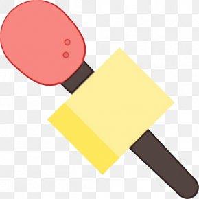 Scraper Lump Hammer - Yellow Lump Hammer Clip Art Scraper PNG