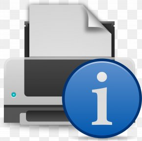 Pause Button - Printer Printing Clip Art PNG