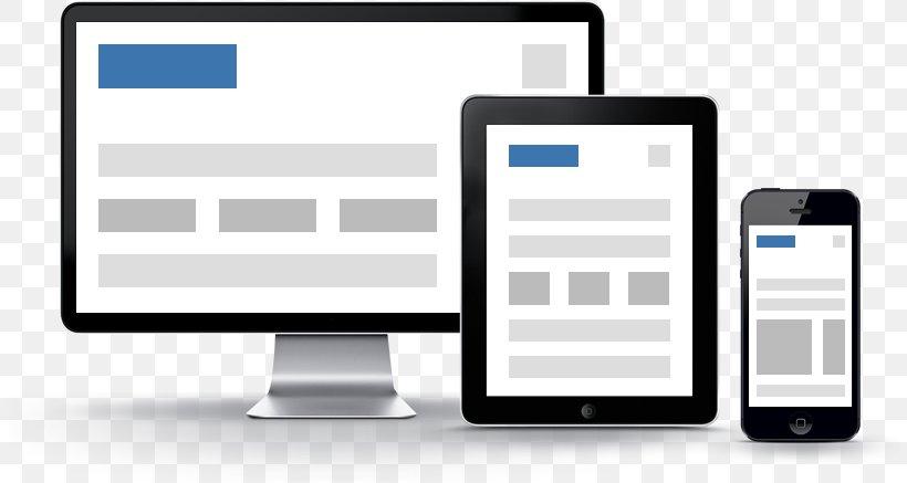 Responsive Web Design Web Development Management, PNG, 810x437px, Responsive Web Design, Brand, Business, Communication, Communication Device Download Free