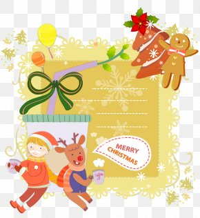 Christmas Postcard - Christmas Postcard Greeting Card Mail Santa Claus PNG