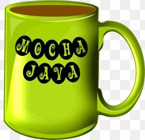 Green Mug - Coffee Cup Espresso Caffxc3xa8 Mocha Java Coffee PNG