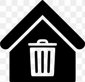 Trash Can - House Home Symbol PNG