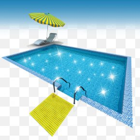 Beautiful Swimming Pool - Euclidean Vector Swimming Pool Photography Illustration PNG