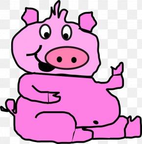 Pink Cadillac Cliparts - Pig Roast Stock.xchng Clip Art PNG
