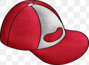 Red Hat - Baseball Cap Hat Cartoon PNG