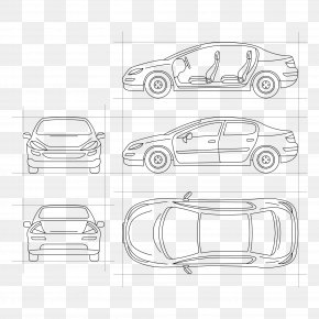 Vector Car Artwork - Car Icon PNG