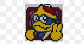 Pixel Art - King Dedede Pixel Art Graphic Design PNG