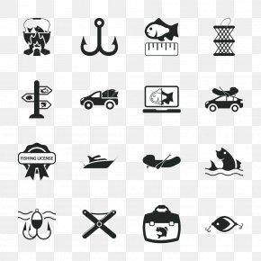 Fishing Icon Design Image - Angling Logo Icon PNG