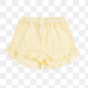 Vintage Clothes - Ruffle Skirt Shorts PNG