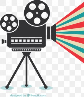 Creative Movie Projector Vector Material Downloaded, - Video Camera Video Camera Film PNG