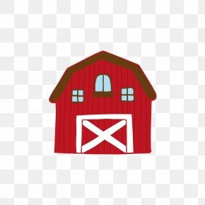 Red Farm Warehouse - Warehouse Euclidean Vector Farm PNG