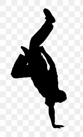 Silhouette - Breakdancing Hip-hop Dance Clip Art Street Dance PNG