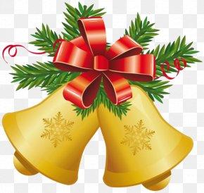 Christmas Bell - Jingle Bell Christmas Clip Art PNG