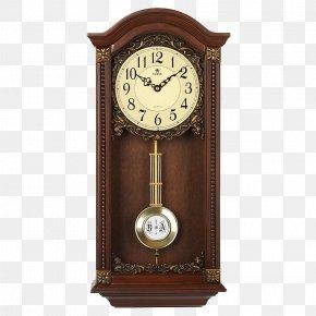 Vintage Wall Clock Bell - Pendulum Clock Table Quartz Clock Mantel Clock PNG