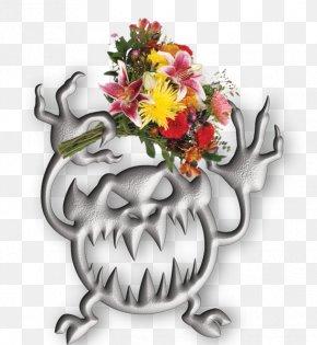 Design - Floral Design Character Flowering Plant PNG